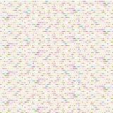 Línea incompleta Dot Marks Seamless Vector Pattern libre illustration