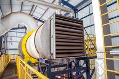 Línea industrial producción del azúcar del secador Imagen de archivo libre de regalías