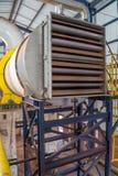 Línea industrial producción del azúcar del secador Foto de archivo