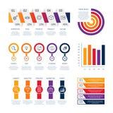Línea infographic información financiera de la moneda del análisis del panel de control de la carta del tablero de instrumentos d stock de ilustración