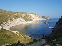 Línea inglesa de la costa Fotografía de archivo