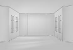 Línea interior Foto de archivo libre de regalías