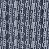 Línea japonesa modelo del zigzag Imagen de archivo libre de regalías