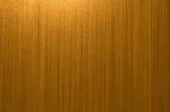 Línea marrón fondo del oro del modelo Foto de archivo libre de regalías