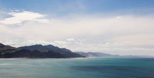 Costa de Nueva Zelanda Foto de archivo libre de regalías