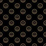 Línea modelo de la sonrisa del icono Imagenes de archivo