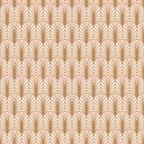 Línea modelo geométrico del oro del art déco del estilo Fotografía de archivo