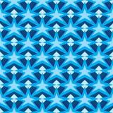 Línea modelo inconsútil del diamante del palillo de la estrella Imagenes de archivo