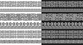 Línea modular abstracta estilo del maya Fotografía de archivo libre de regalías