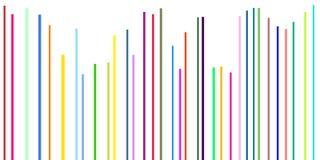 Línea multicolor de la simplicidad Imagenes de archivo