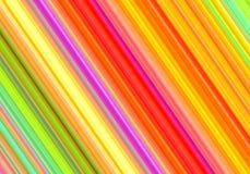 Línea multicolora modelo del arco iris diagonal ilustración del vector