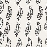 Línea negra textura inconsútil de la pluma Imagenes de archivo