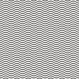 Línea ondulada inconsútil modelo Foto de archivo