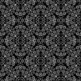 Línea ornamental geométrica modelo inconsútil del tracery del arte Extracto stock de ilustración