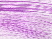 Línea púrpura pintura de la acuarela fotografía de archivo