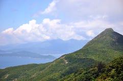 Línea paisaje de la costa Fotografía de archivo libre de regalías