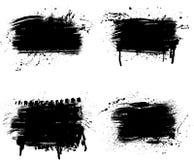 Línea piezas del Grunge Foto de archivo libre de regalías