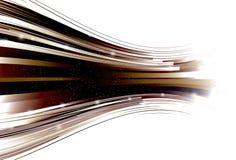 Línea retra curvada de enfoque fondo stock de ilustración