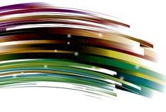Línea retra curvada de enfoque fondo libre illustration