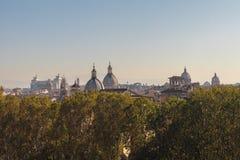 Línea Roma del cielo Fotografía de archivo libre de regalías