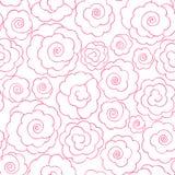 Línea simple rosas Fotos de archivo