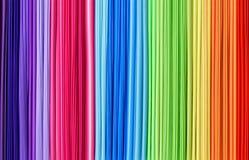Línea textura del abctract del arco iris Fotografía de archivo libre de regalías