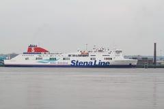 Línea transbordador de Stena Fotos de archivo