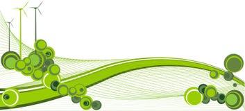 Línea Verde ilustración del vector