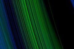 Línea Verde abstracta del azul del fondo Imagen de archivo