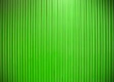 Línea vertical color verde de la pared del metal de la textura Foto de archivo