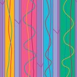 Línea vertical modelo inconsútil de la raya del metal de la puerta libre illustration