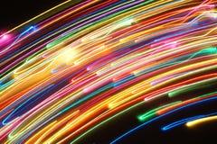 Líneas 002 del movimiento Fotos de archivo libres de regalías