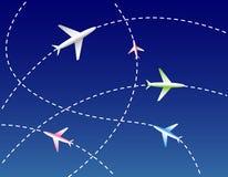 Líneas aéreas Imagen de archivo libre de regalías