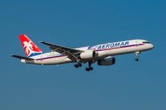 Líneas aéreas Boeing 757 de Aeromar Imagen de archivo