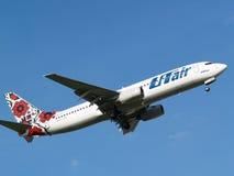 LÍNEAS AÉREAS Boeing de UTAIR-UKRAINE 737-800 aviones fotografía de archivo libre de regalías