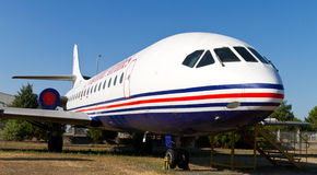 Líneas aéreas de Estambul, aviación Caravelle del Sud Foto de archivo libre de regalías