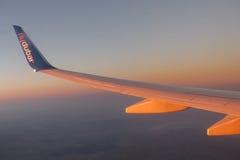 Líneas aéreas de Flydubai Imágenes de archivo libres de regalías