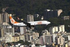 Líneas aéreas de GOL, Rio de Janeiro, el Brasil Fotos de archivo