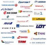Líneas aéreas del miembro de la alianza de la estrella