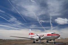 Líneas aéreas occidentales Convair Imagen de archivo