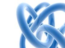 Líneas abstractas 3d ilustración del vector