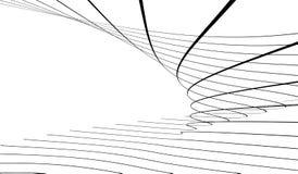 Líneas abstractas Fotos de archivo