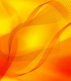 Líneas abstractas amarillas Imágenes de archivo libres de regalías