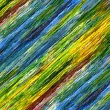Líneas abstractas coloridas para el fondo Imagen de archivo libre de regalías