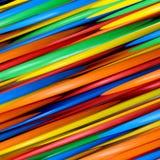 Líneas abstractas coloridas para el fondo Fotos de archivo libres de regalías