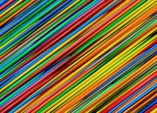 Líneas abstractas coloridas para el fondo Imagenes de archivo