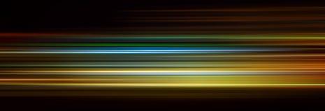 Líneas abstractas del color Imagenes de archivo