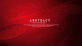 Líneas abstractas fondo de la onda para el diseño del elemento y otros usuarios ilustración del vector