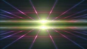 Líneas abstractas lazo de las partículas de Technologic del fondo stock de ilustración