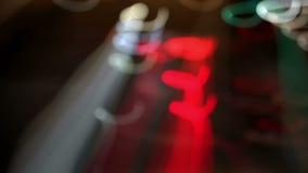 Líneas abstractas ligeras almacen de video